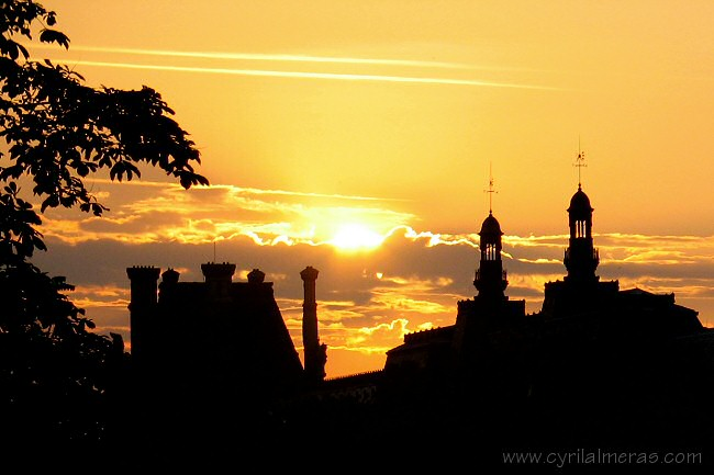 Couchers de soleil levers de soleil - Coucher de soleil sur paris ...