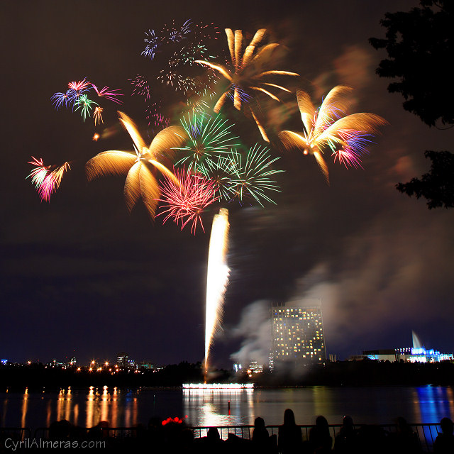 Casino Du Lac Ottawa  Fireworks By Pyro Spectaculars