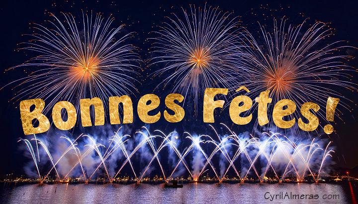 Cartes Bonne fête de fin d'année gratuites