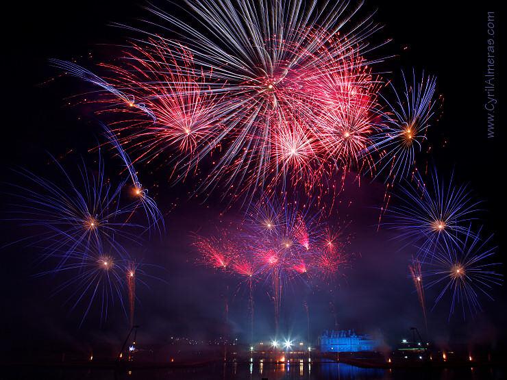 spectacle pyrotechnique les feux de chantilly 2011