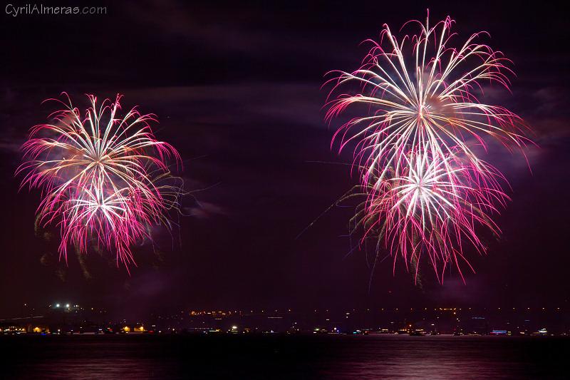 san francisco golden gate bridge 4th of july fireworks